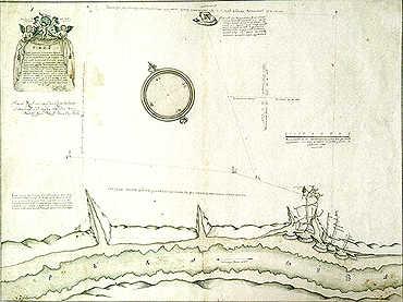 План горных работ Яйвинского рудника. 1728 г.
