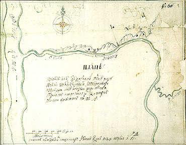 План горных работ на Яйве. 1724 г. И. Юдин